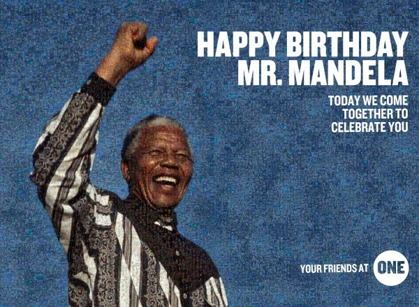 Happy Birthday, Nelson Mandela